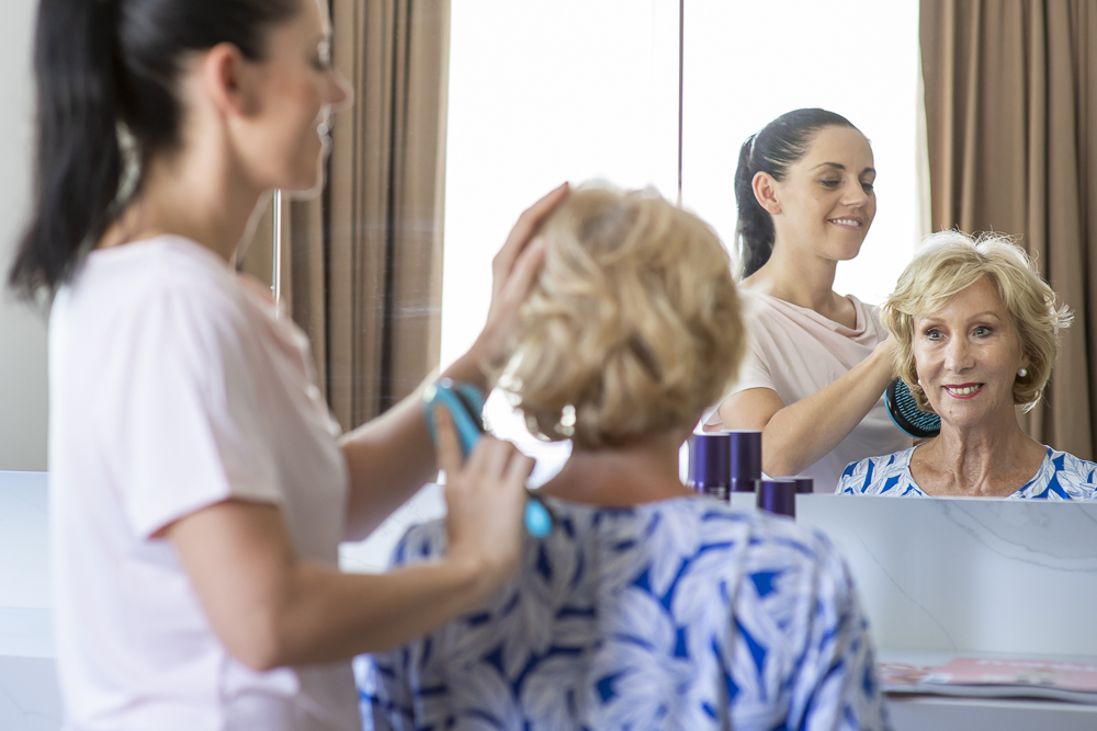 Hair salon and day spa at The Richardson aged care Perth