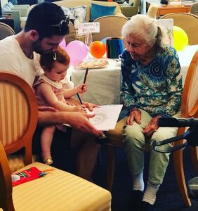 Colouring In - Grandparents Day at The Richardson
