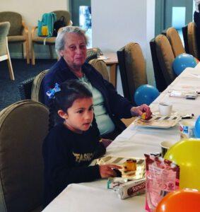 Morning Tea - Grandparents Day at The Richardson