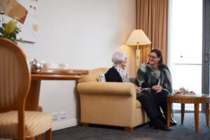 Resident and Guest at The Richardson Aged Care Perth