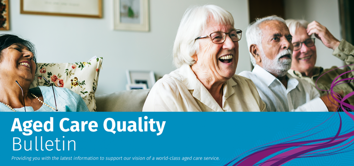 Aged Care and Quality Commission April Newlsetter