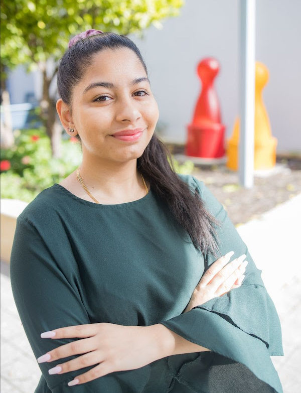 Aaliyah Seedat - first graduate of the Youth Focus Vocational Support Program