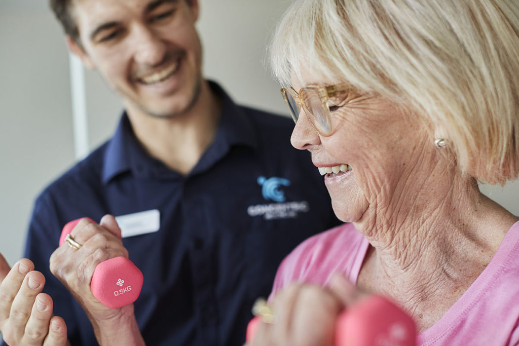 Aged care wellness facilities at The Richardson